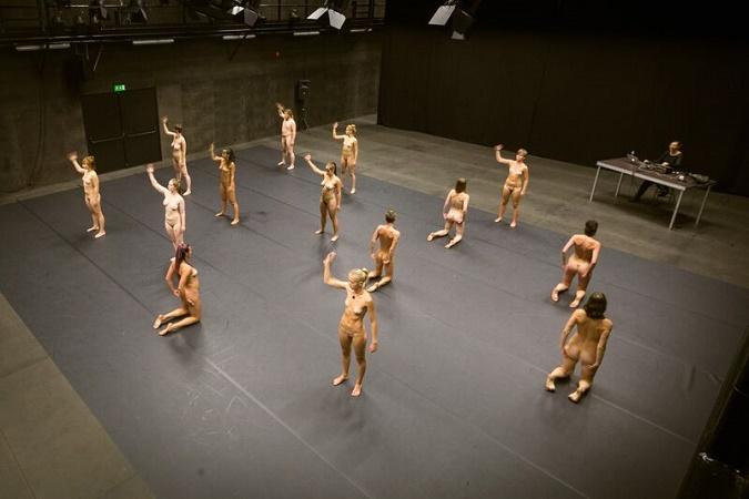 Ballet class naked